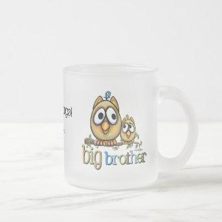 Big Brother - Baby Bro Owls Mugs