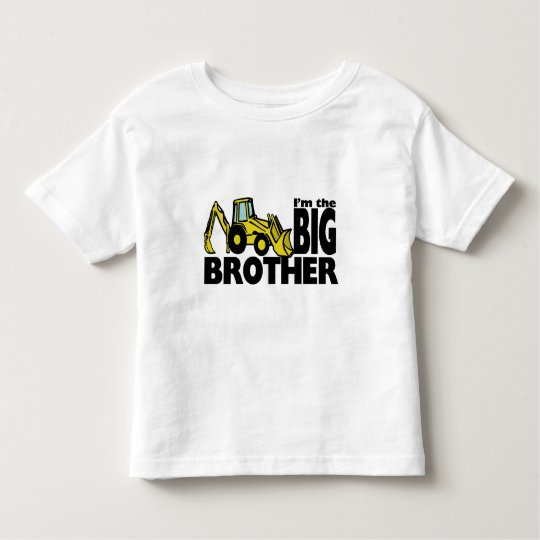 Big Brother Backhoe Toddler T-shirt