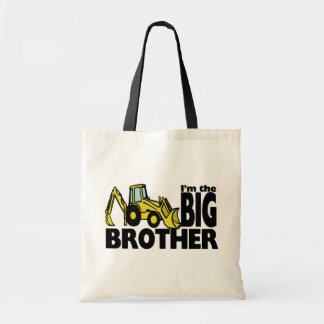 Big Brother Backhoe Tote Bags