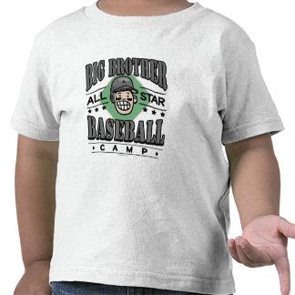 Big Brother Baseball Black Helmet Tshirts