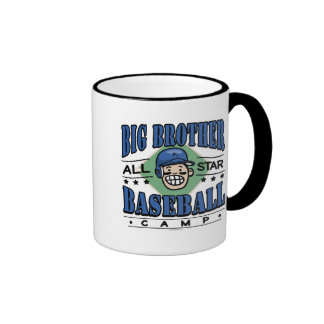 Big Brother Baseball Blue Helmet Coffee Mugs