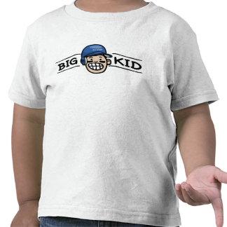 Big Brother Baseball Blue Helmet T Shirt