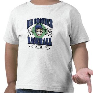 Big Brother Baseball Navy Helmet T Shirts