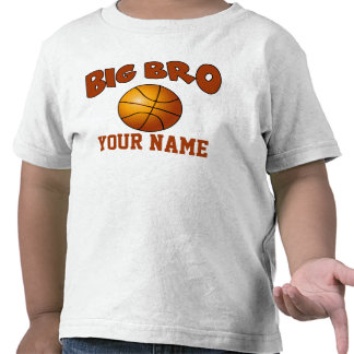 Big Brother Basketball Personalized T-shirt