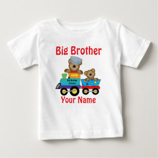 Big Brother Bear Train Personalized Shirt
