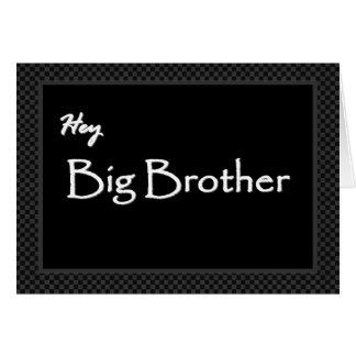 BIG BROTHER Best Man Invitation Customizable