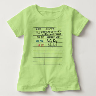 Big Brother/Big Sister Library Due Date Card Shirt