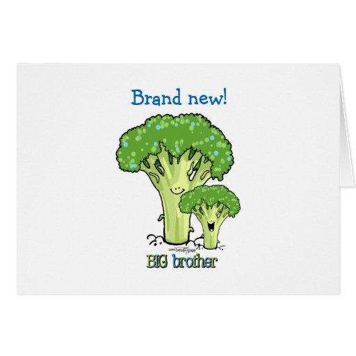 Big Brother - Broccoli Card