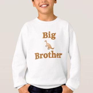 Big Brother Brown Dinosaur Sweatshirt