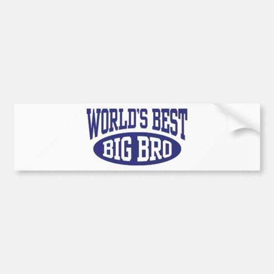 Big Brother Bumper Sticker