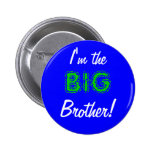 Big brother button/pin 2 inch round button