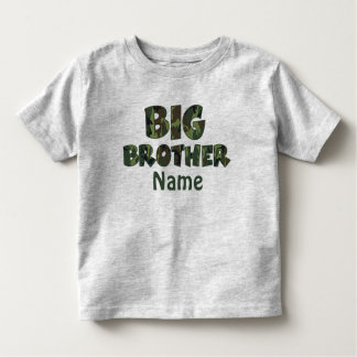 Big Brother Camo Personalized Shirt