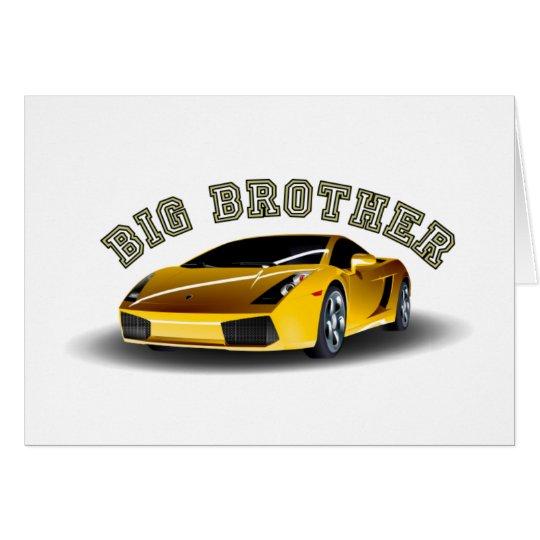 Big Brother Car Card