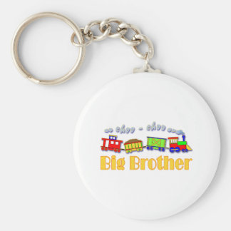 Big Brother Choo Choo Train Keychains