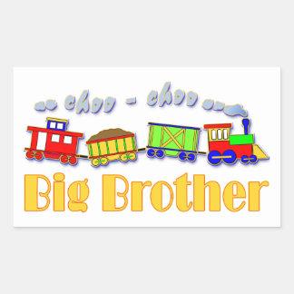 Big Brother Choo Choo Train Rectangular Sticker