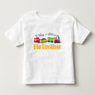 Big Brother Choo Choo Train Toddler T-shirt