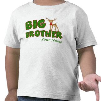Big Brother Christmas Reindeer T Shirts