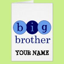 Big Brother - Circles Card