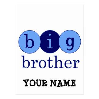 Big Brother - Circles Postcard
