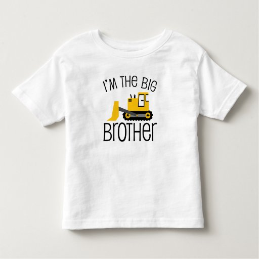 Big Brother Construction Front Loader Tee Shirt