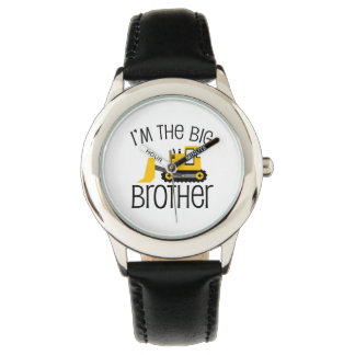 Big Brother Construction Front Loader Wristwatch