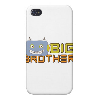 Big Brother Cool Robot iPhone 4/4S Case
