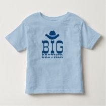 Big Brother Cowboy Hat Toddler T-shirt