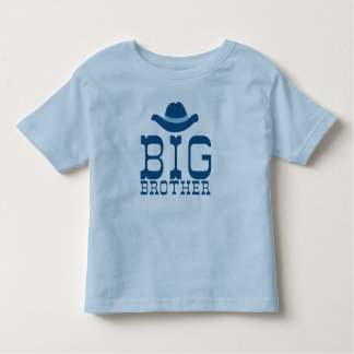 Big Brother Cowboy Hat Toddler T-shirt
