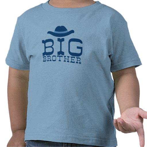 Big Brother Cowboy Hat T-shirts