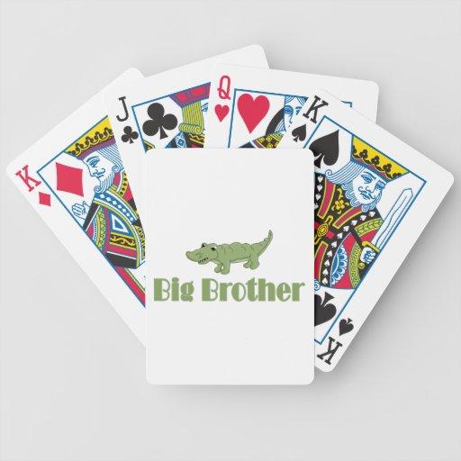 Big Brother Crocodile Poker Cards