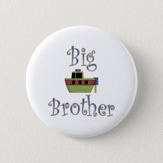 Big Brother Cute Boat Button