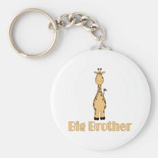 Big Brother Cute Giraffe Keychains