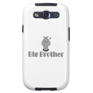 Big Brother Cute Hippo Galaxy S3 Case