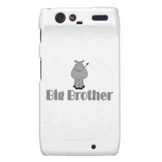 Big Brother Cute Hippo Motorola Droid RAZR Cover
