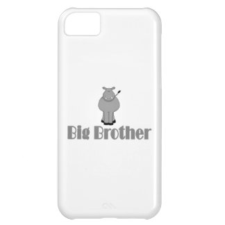 Big Brother Cute Hippo Case For iPhone 5C