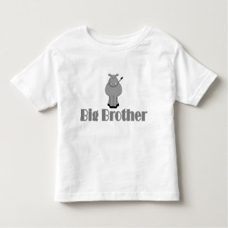 Big Brother Cute Hippo Toddler T-shirt