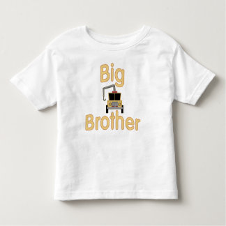 Big Brother Cute Tow Truck Toddler T-shirt