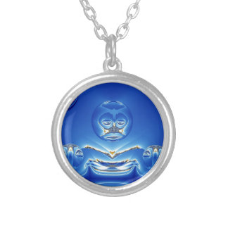 Big Brother Design Round Pendant Necklace