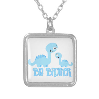 Big Brother Dinosaur Personalized Necklace