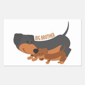 Big Brother (dogs) Rectangular Sticker