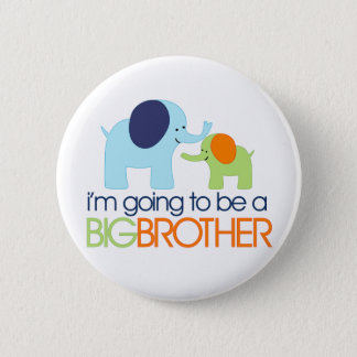 Big Brother Elephant T-shirt Button
