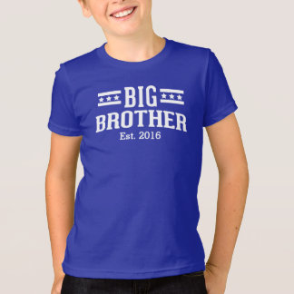 Big Brother Established Year Customizable T-Shirt