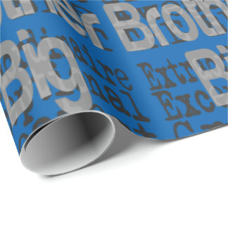 Big Brother Extraordinaire Wrapping Paper