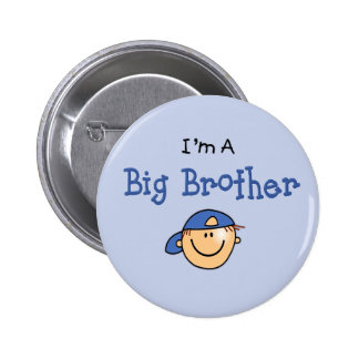Big Brother Face Pinback Button