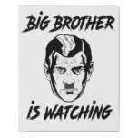 Big Brother Faux Canvas Print