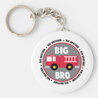 Big Brother Fire Truck Keychain