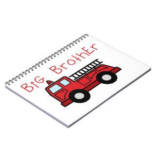 Big Brother Fire Truck Spiral Notebook