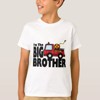 Big Brother Fire Truck T-Shirt