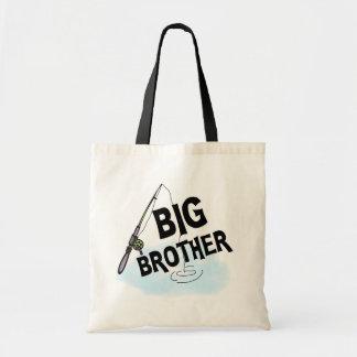 Big Brother Fishing Tshirts and Gifts Budget Tote Bag
