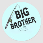 Big Brother Fishing Tshirts and Gifts Stickers